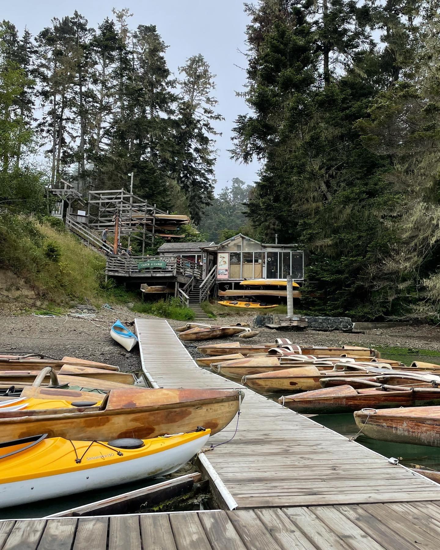 catch a canoe Mendocino