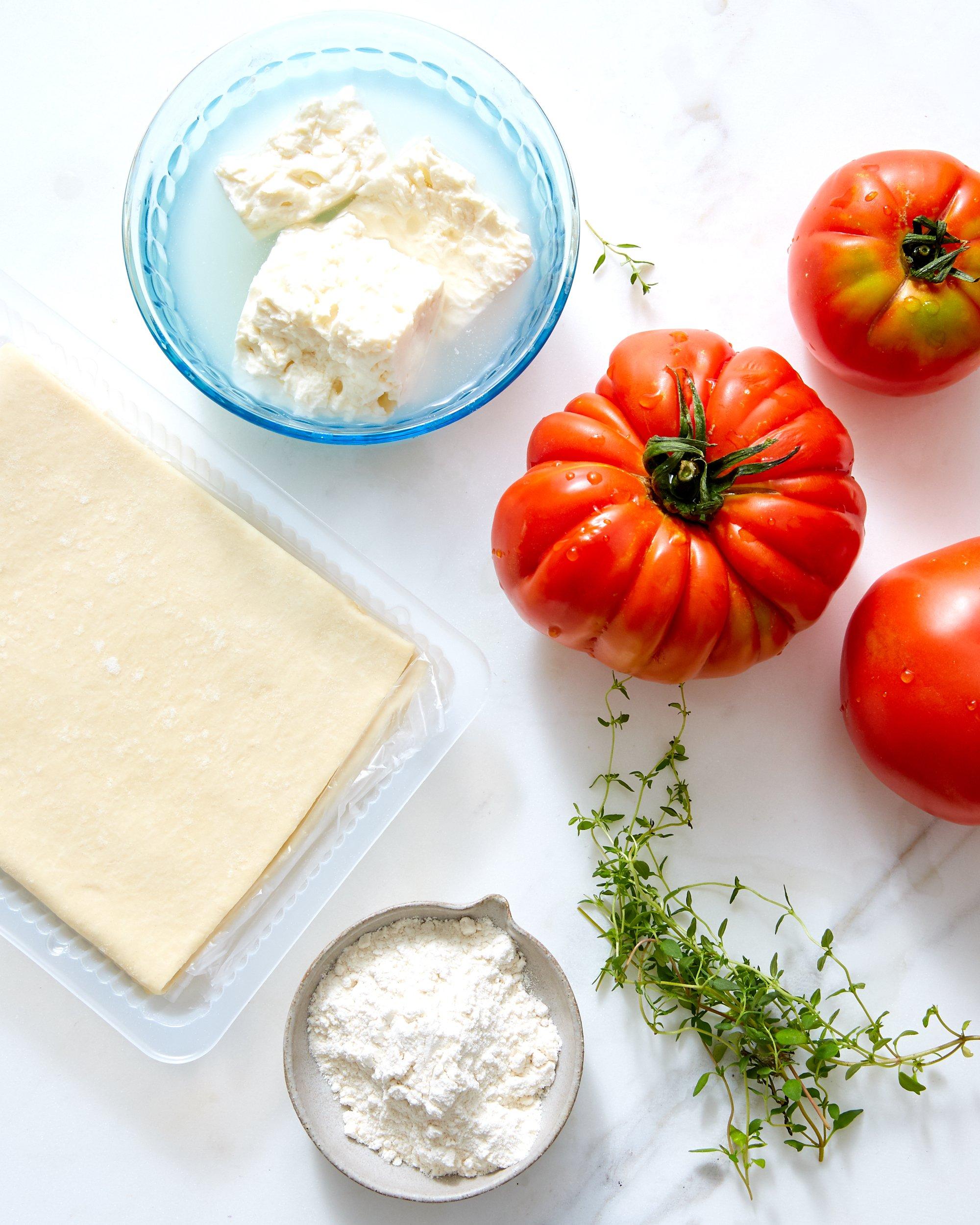 A Tomato-Feta Tart Just Right for Summer