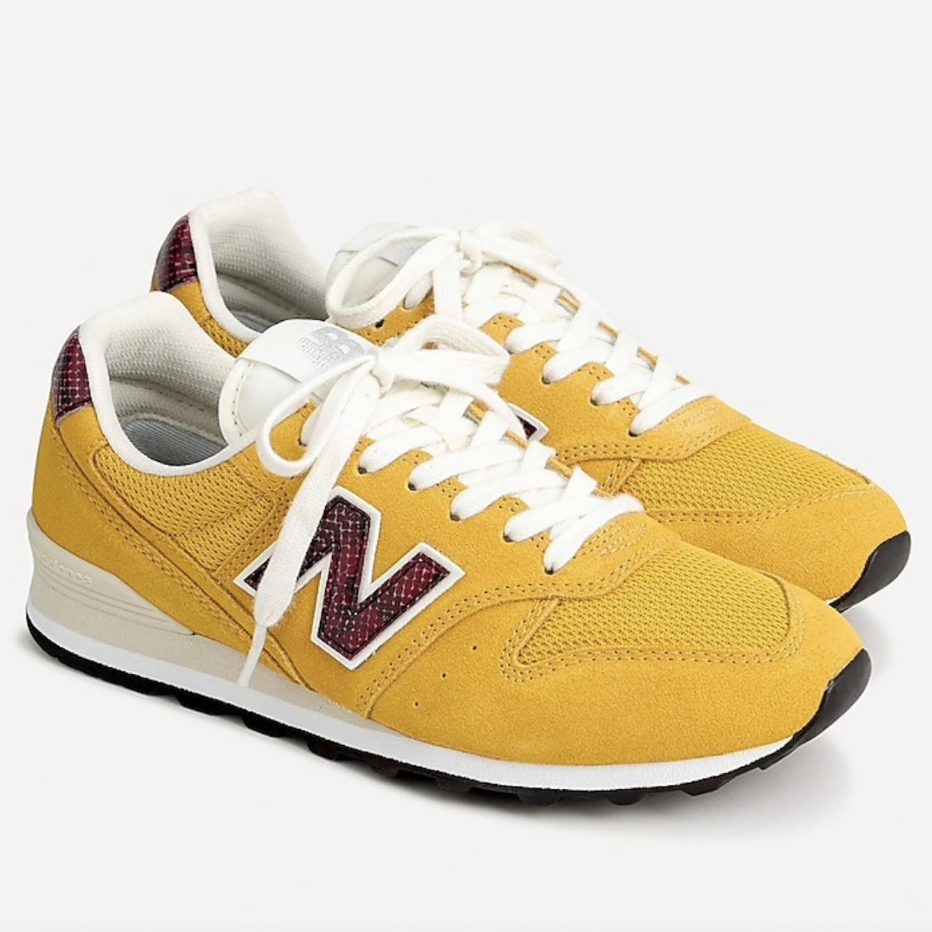 new balance yellow sneakers