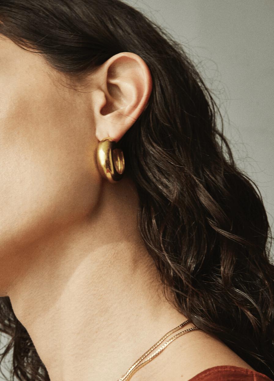 Laura Lombardi hoop earrings
