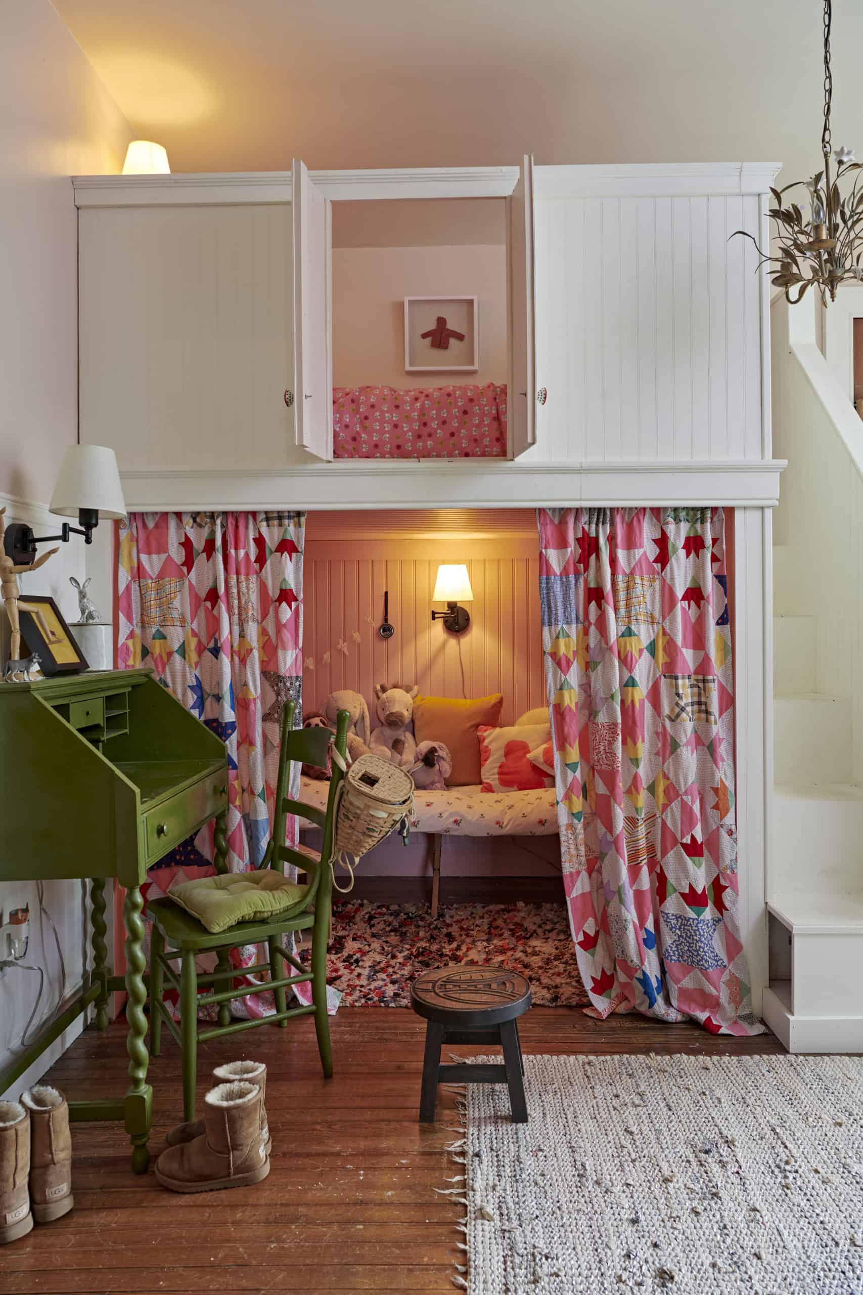heather ross Catskills house tour
