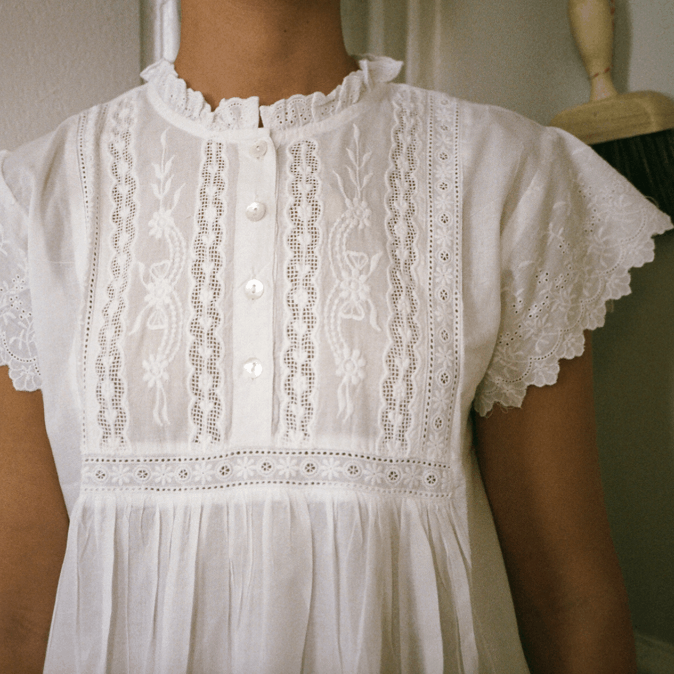 nightgown lace