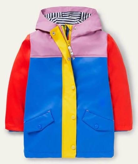 boden colorblock raincoat