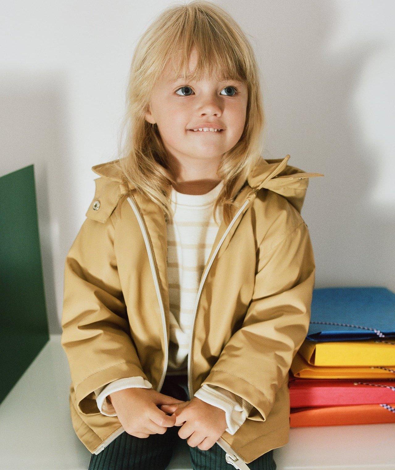 Zara raincoat girls