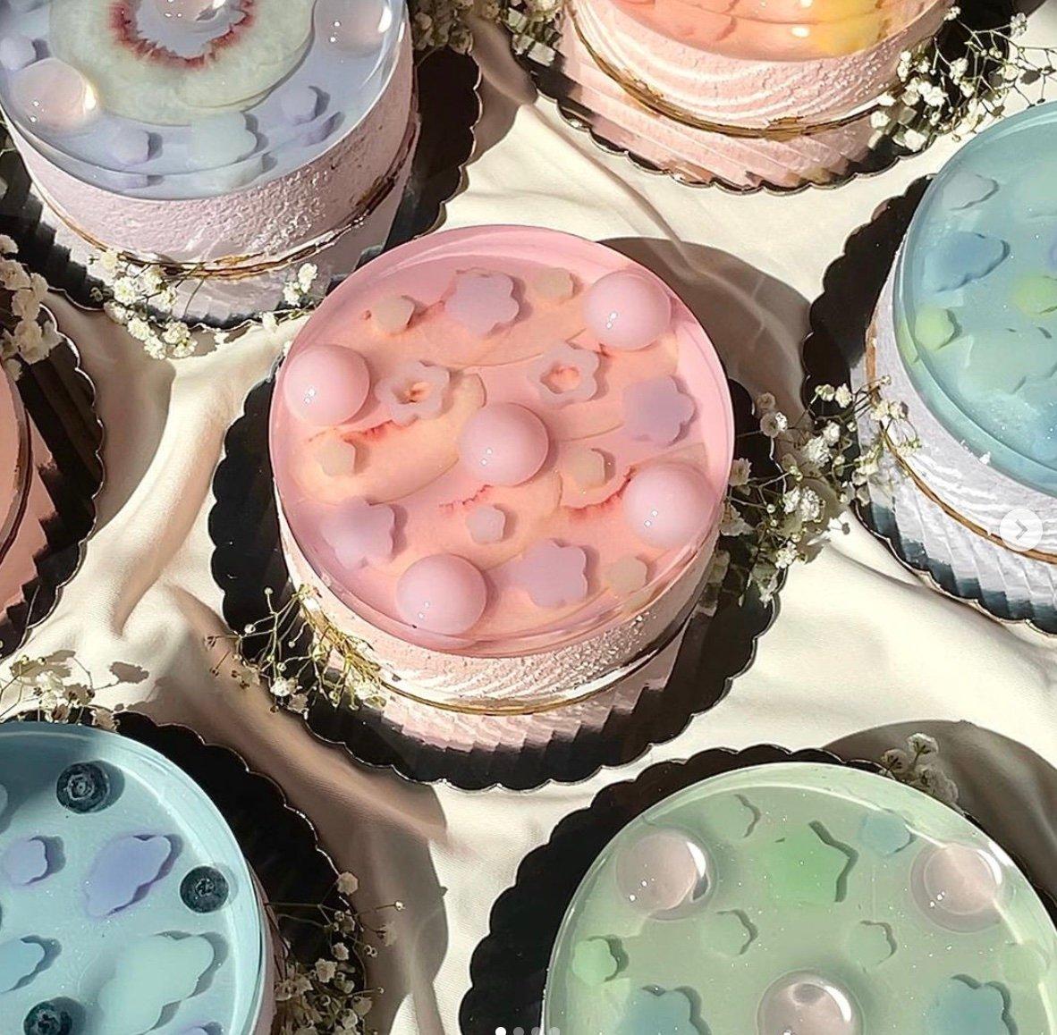 کیک های ژله ای Nünchi