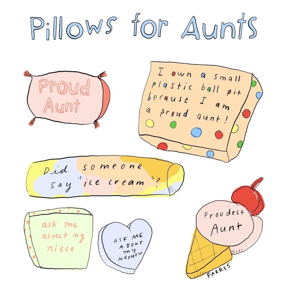 aunts comic by grace farris